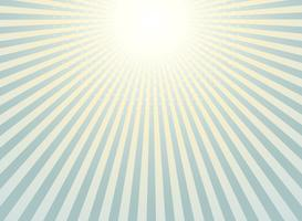 Abstrakt solstrål bakgrund tappning av halvtons mönster design.