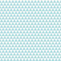 Nahtloses Design des abstrakten Dreieckmusters des blauen Himmels auf weißem Hintergrundvektor. Abbildung Vektor eps10