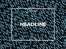 Gradiente abstracto línea azul raya patrón de fondo de la tecnología. Puede utilizar para el cartel, anuncio, anuncio, informe anual, diseño de obras de arte.