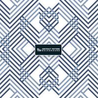 Projeto azul geométrico sistemático abstrato do teste padrão. Você pode usar para o design da capa, arte moderna, impressão, anúncio, relatório.