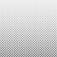 Abstract hexagon halftone pattern background black and white.