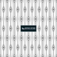 Abstract stripe line of square diamond pattern background on white background.