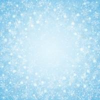 Christmas of center blue sky snowflakes pattern background.