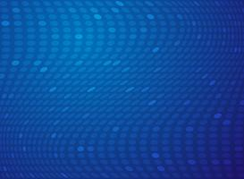 Abstract gradient blue dot mesh technology background.