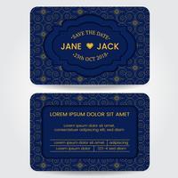 Hochzeits-Karten-Schablone