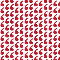 Pattern background Blockquote sign icon
