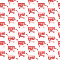 pattern background shopping cart icon