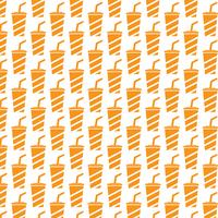 Soft drink icon pattern background