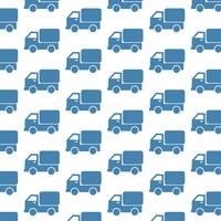 Car Truck pattern background vector