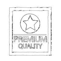 Icono de calidad premium