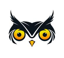 Owl face icon