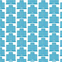 Pattern background Office building icon