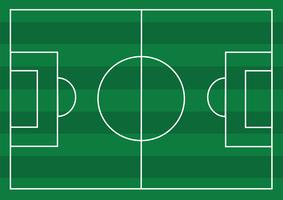 Soccer field or Football textured grass field