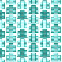 Pattern background Office building icon vector