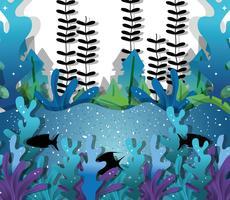 Papel arte submarino
