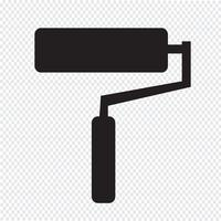 Farbroller-Symbol