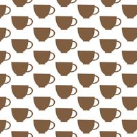 Cup pattern background