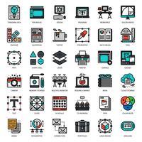 ícone de designer gráfico