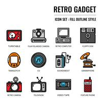 retro gadgetpictogram