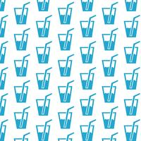 drink pattern background