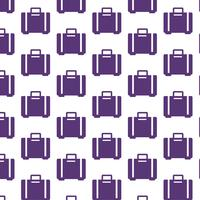 luggage bag pattern background vector
