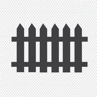 fence icon  symbol sign