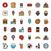 food and beverage vector