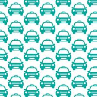 Taxi Car Pattern Background