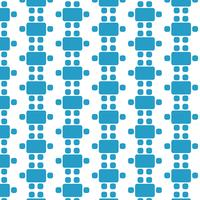 Pattern background Top View Dinning Furniture Icon vector