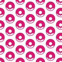 Donut Muster Hintergrund