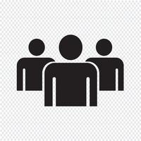 Gruppe Menschen Symbol