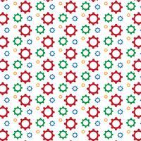 Gear pattern background