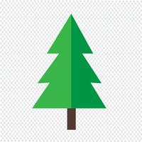 Ícone de árvore de natal
