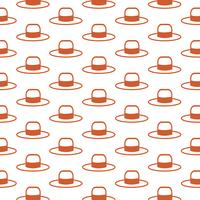 Hat pattern background