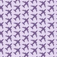 Plane pattern background vector
