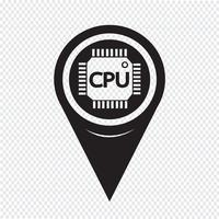 Map Pointer CPU-Symbol
