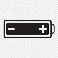 battery web icon vector