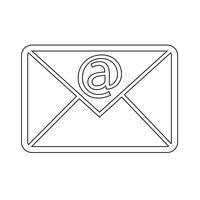 e-mail symboolpictogram