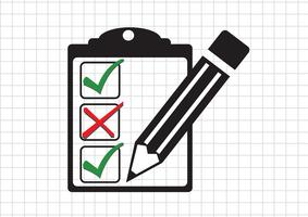 checklist icon  Symbol Sign