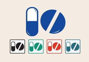 Medicine icon  Symbol Sign vector