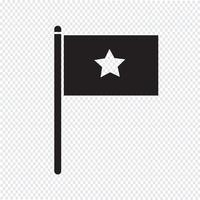 flag icon  symbol sign