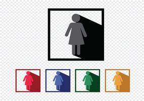 Pictogram Mensen pictogrammen voor web mobiele applicaties en mensen tekenen