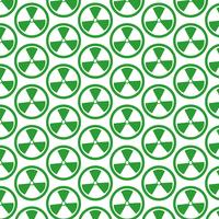 Pattern background Radioactivity sign icon