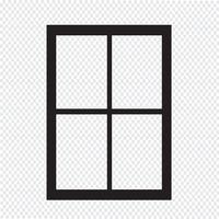 window icon  symbol sign