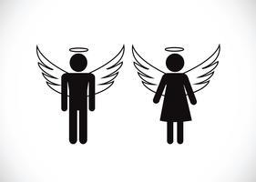 Pictogram Angel Pictogram symbool teken