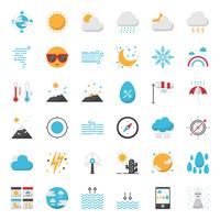 Weather forecast outline icon