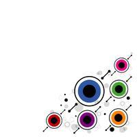 modern cirkel bakgrund