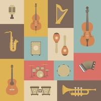 classical music instrument vector