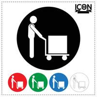 Man Moving Box-ikonen