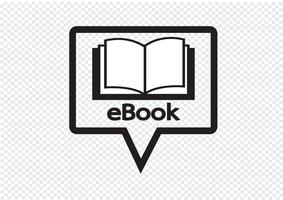 E-book reader  and e-reader icons set vector